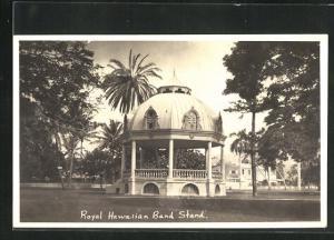 AK Hawaii, Royal Hawaiian Band Stand
