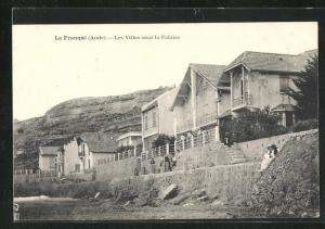 AK La Franqui, Les Villas sous la Falaise