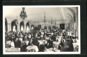 AK Battle Creek, MI, Sanatorium, Main Dining Room, Gäste an Tischen