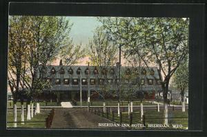 AK Sheridan, WY, Sheridan Inn Hotel