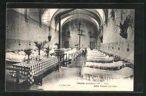 AK Pau, Hopital Auxiliaire, Salle Alsace-Lorraine