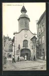 AK Limoges, Eglise St-Aurelien