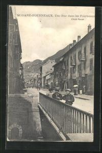 AK Modane-Fourneaux, Une Rue dans les Fourneaux