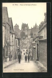 AK Vitre, Rues du Rachapt et Pasteur
