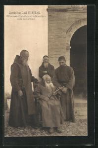 AK Cordoba, Las Ermitas, El hermano Telesforo, el mas anciano de la comunidad