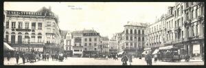 Klapp-AK Anvers, Place de Meir