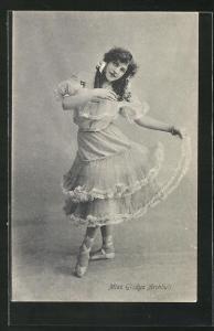 AK Ballett-Tänzerin Miss Gladys Archbult