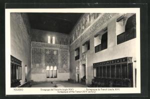 AK Toledo, Sinagoge del Tránsito (siglo XIV), Synagoge