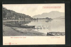 AK Loch Lomond, Ben Lomond from Luses, Halt gegen das Licht
