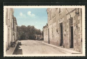 AK Beaucaire-sur-Baise, Avenue de la Poste