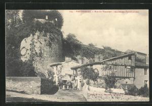 AK Parthenay, Rue de Veauvert, Anciennes Fortifications