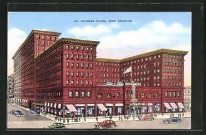 Künstler-AK New Orleans, LA, Charleston Hotel