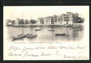 AK Saint-Jean-de-Luz, La Rhune & la Maison de l'Infante