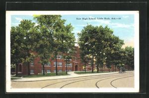 Künstler-AK Little Rock, AR, New High School