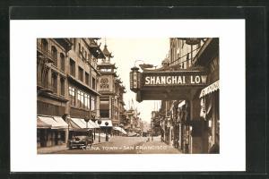 AK San Francisco, CA, China Town