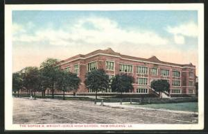 AK New Orleans, LA, The Sophie B, wright Girls High School