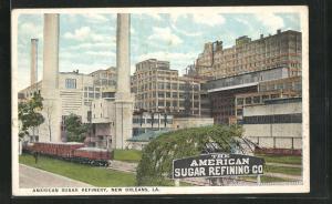 Künstler-AK New Orleans, LA, American Sugar Refinery