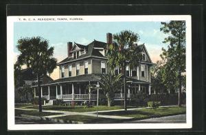 Künstler-AK Tampa, FL, Y.M.C.A. Residence