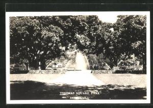 AK Honolulu, HI, Thomas Square Park