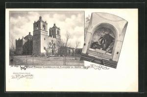 AK San Antonio, TX, First Mission Concepcion la Purissima de Acuna