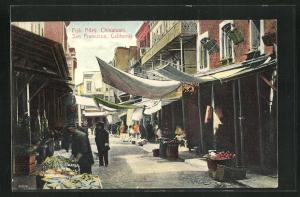 AK San Francisco, CA, Chinatown, Fish Alley