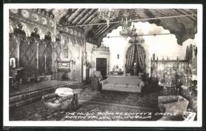 AK Scotty`s Castle, CA, Scotty`s Castle Death Valley, Music Room
