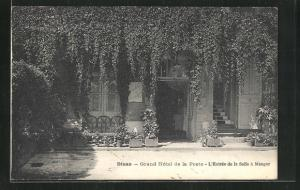 AK Dinan, Grand Hotel de la Poste, L`Entrée de la Salle à Manger