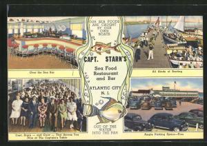 AK Atlantic City, NJ, Capt. Starn`s Restaurant and Boating Center
