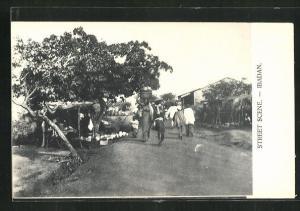 AK Ibadan, Street Scene