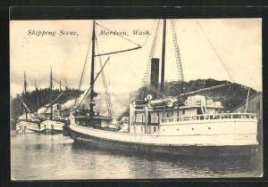 AK Aberdeen, WA, Shipping Scene