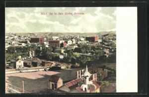 AK Globe, AZ, Ortsansicht aus der Vogelschau
