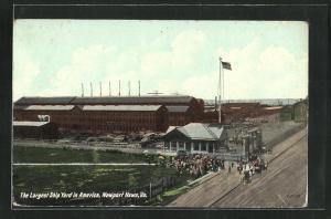 AK Newport News, VA, Ship Yard