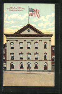 AK Washington D.C., Ford`s Theatre, where Lincoln was shot