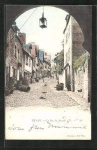 AK Dinan, La Rue du Jersual