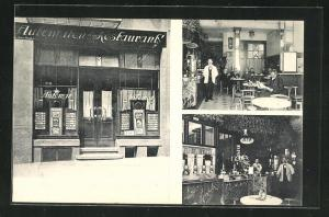 AK Radeberg i. Sa., Automaten-Restaurant, Dresdener Strasse 14