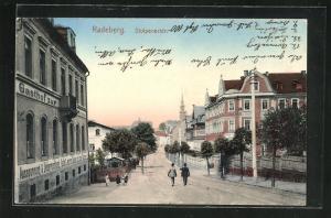 AK Radeberg, Gasthof in der Stolpenerstrasse