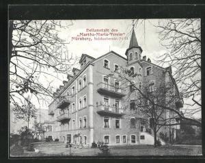 AK Nürnberg, Heilanstalt des Martha-Maria-Verein, Sulzbacherstrasse 79 /81