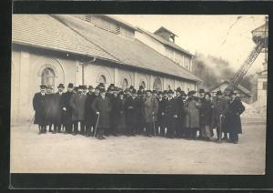 AK Peissenberg, Landtagsbesuch in der Zeche am 22.11.1920