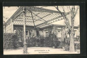 AK Offenbach a. M., Das Crematorium