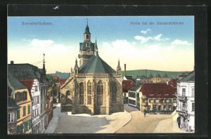 AK Zweibrücken, Partie bei der Alexanderkirche