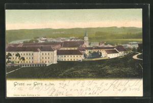 AK Gars a. Inn, Blick auf das Redemptoristen-Kloster