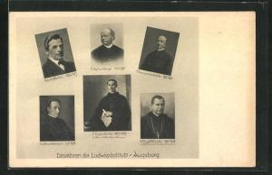 AK Augsburg, Direktoren des Ludwigsinstituts