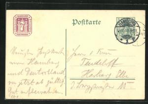 AK Postkarte ohne Motiv, Ganzsache, PP27 E8 /07