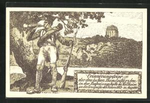 AK Kelheim, Erinnerungsfeier der deutschen Bundesfürsten an 1813, PP27 C112, Ganzsache Bayern