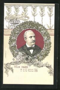Künstler-AK Felix Faure, 1841 - 1899