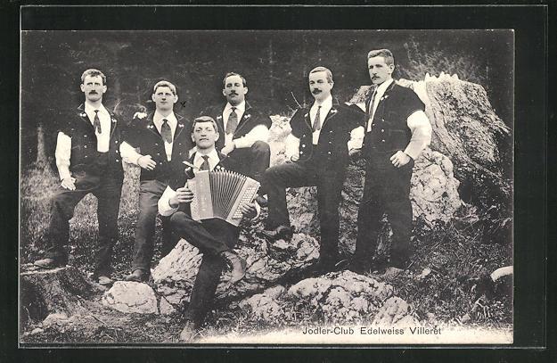 AK Jodler-Club Edelweiss Villeret, Trachtenkapelle 0