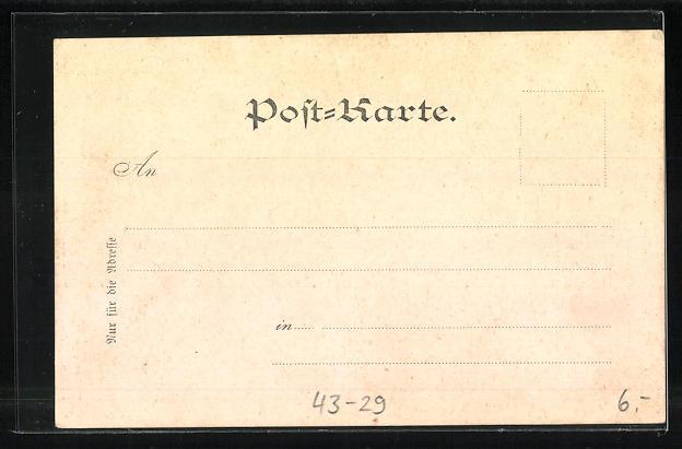 AK Zeitung Ostdeutsche Rundschau November 1897 1