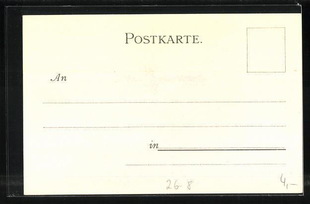 Künstler-AK Heinrich Kley: München, Propylaen 1
