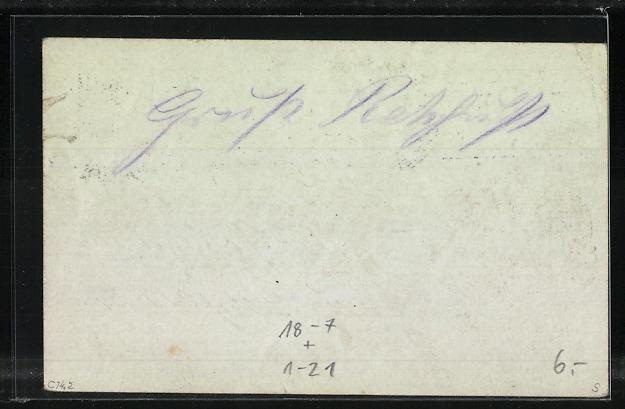 AK Erinnerung an die Silberhochzeit des Württ. Königspaares 1911, Ganzsache 1