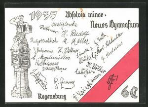 AK Regensburg, Absolvia minor 1937, Neues Gymnasium